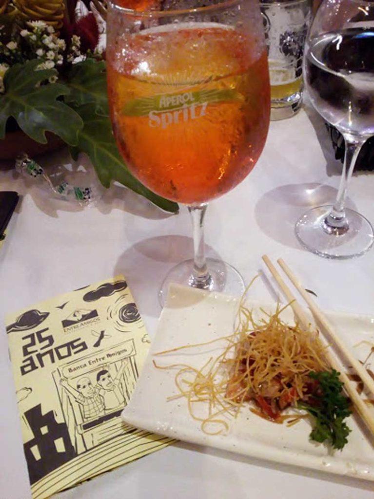 Aperol spritz - festa 25 anos O Bode Entre Amigos
