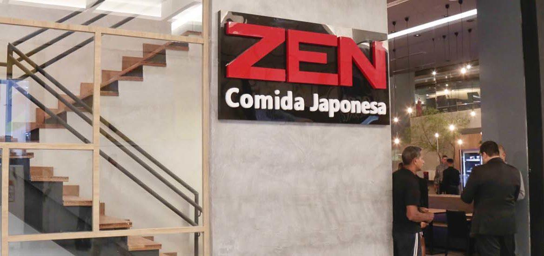 Novo zen comida japonesa no Shopping Patteo