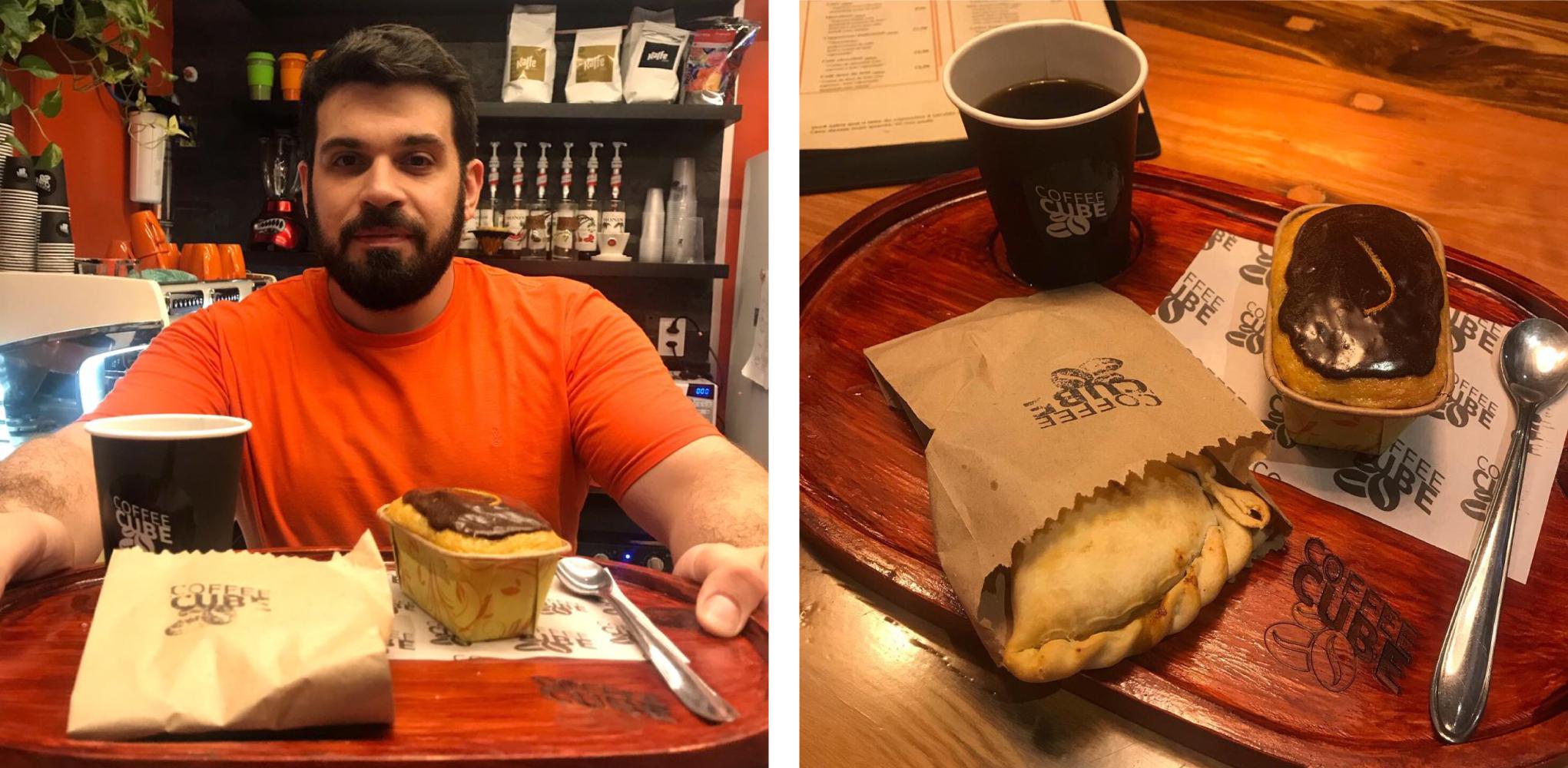Coffee Cube, dos sócios Guilherme Cerqueira e Arthur Rieper