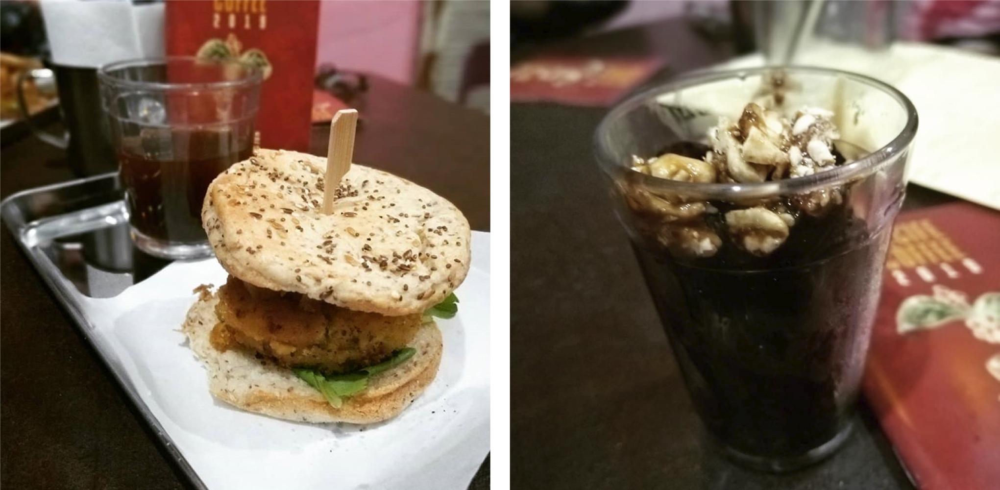 A sugestão do barista do Orgânico 22 foi vegana