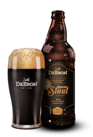Debron-Stout com chocolate - blogverbocomer