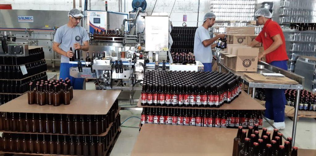 A fábrica da cerveja Ekaut