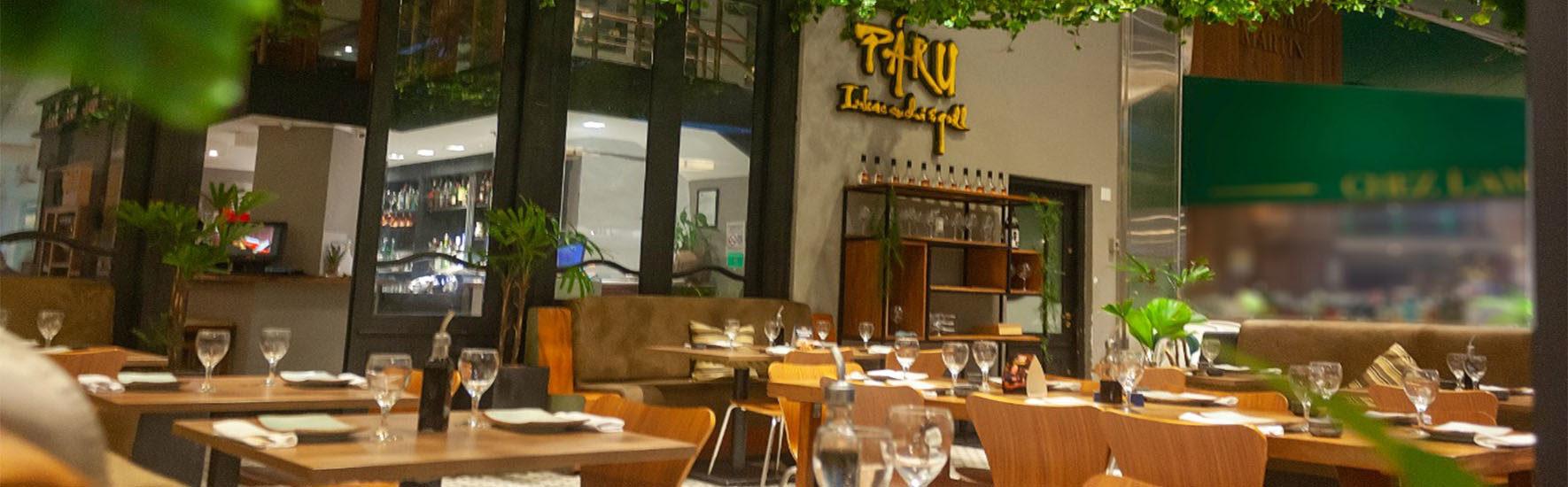 Restaurante Páru inaugura seu novo espaço