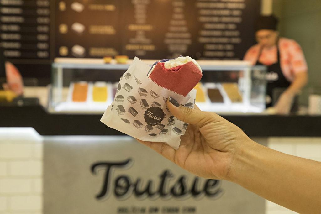 Sanduíche de Sorvete Toutsie em São Paulo