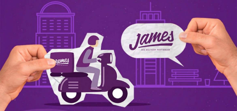 App James passa a realizar entregas gratuitas para grupo de risco