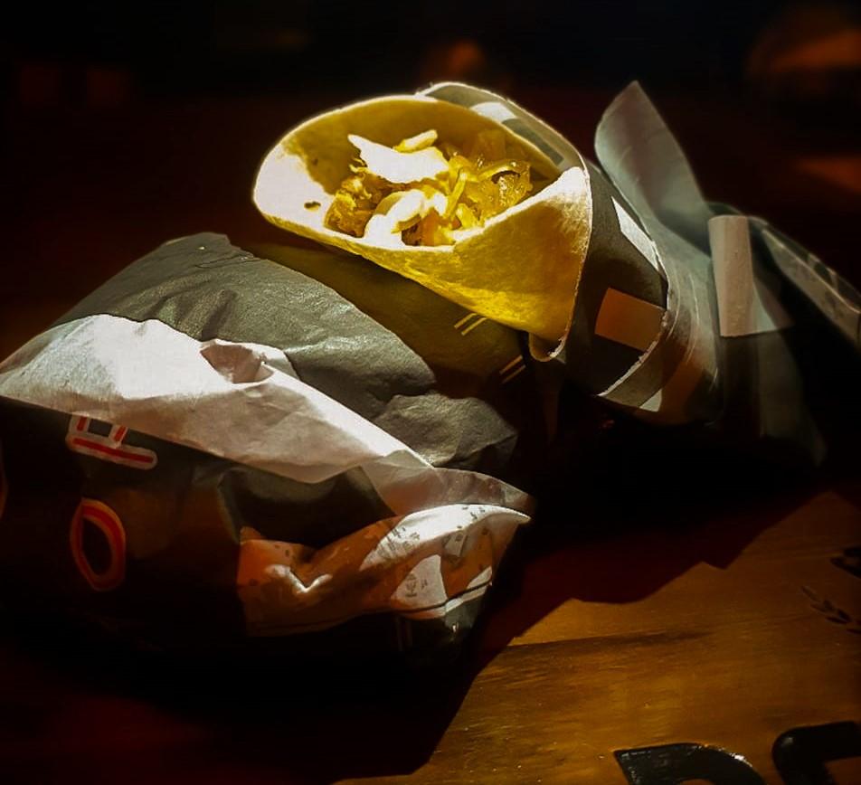Pork Burrito é uma das delícias da casa