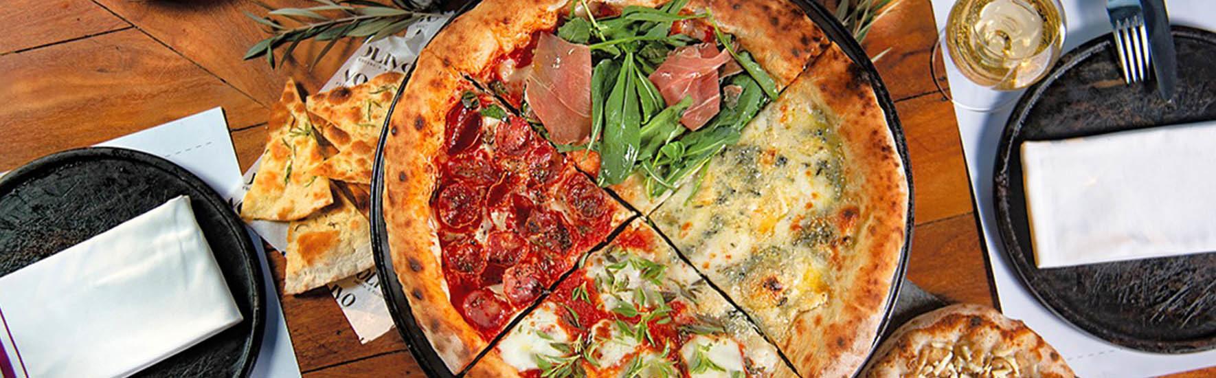 Almoço Executivo e Pizza na Pedra agora fazem parte do Restaurante olivo