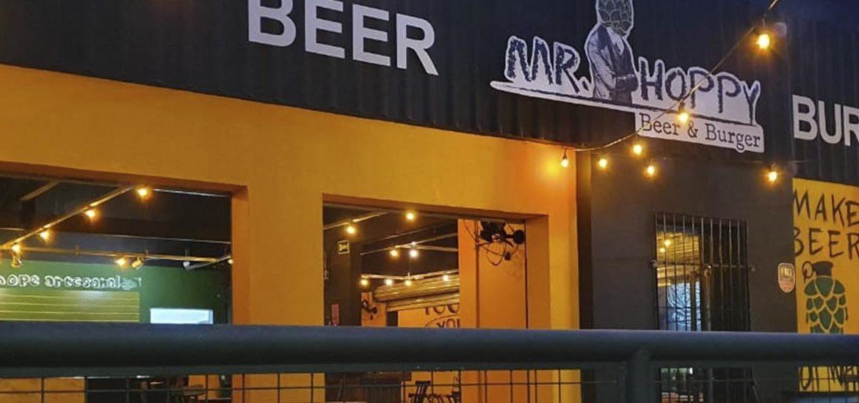 Mr Hoppy Beer & Burger inaugura nova unidade nas Graças